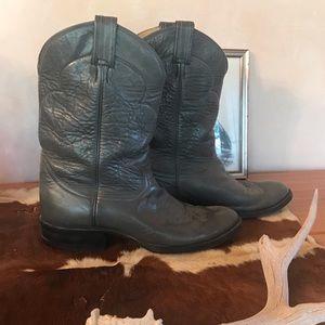 Tony Lama Vintage Cowboy Boots S 10 Older Style